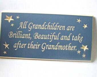 Grandmother & Her Grandchildren Wall Art
