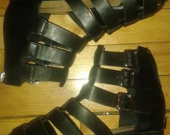 gladiator style shoes