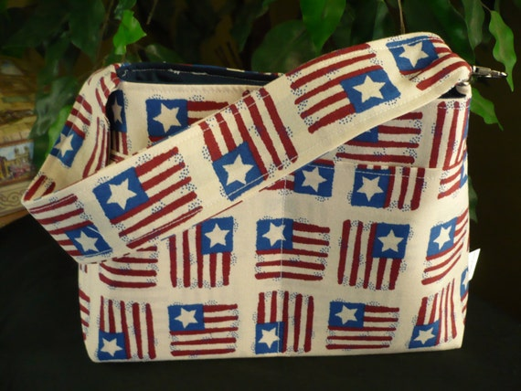 Stars & Stripes Mini Diaper Bag