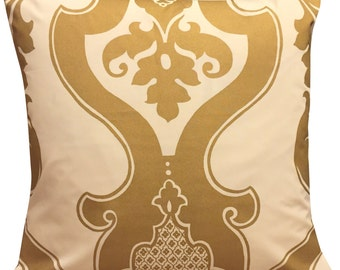 Designers Guild Bergamasque Gold Cushion Cover