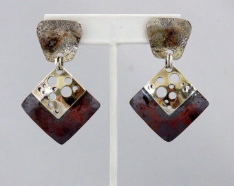 Industrial Metal/Steampunk Earrings