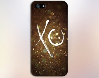 Gold Glitter XO Design Case for iPhone 6 6 Plus iPhone 7  Samsung Galaxy s8 edge s6 and Note 5  S8 Plus Phone Case, Google Pixel