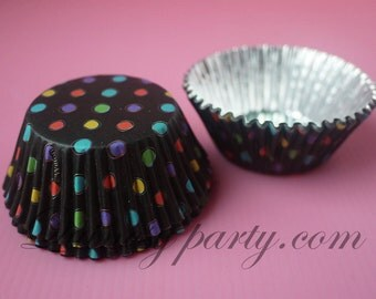 Wilton - Black Rainbow ColorCups Baking Cups
