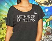 Mother of Dragons Women's Black Dolman Shirt