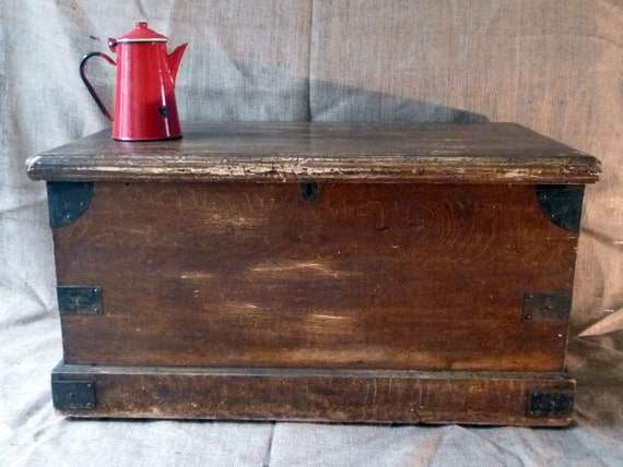 coffee table trunk large wooden chest pine by