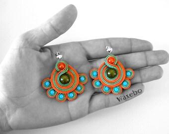 B.O. darling diva colorful. Braid orange. Waxebo
