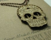 Sugar Skull Necklace - La...