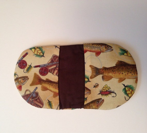 Pinch Potholder Microwave Potholder In A Fish Outdoors Print