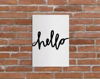 Hi Hello Print