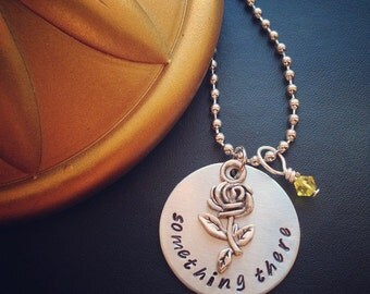 Beauty and the Beast 'Something There' Inspired Necklace