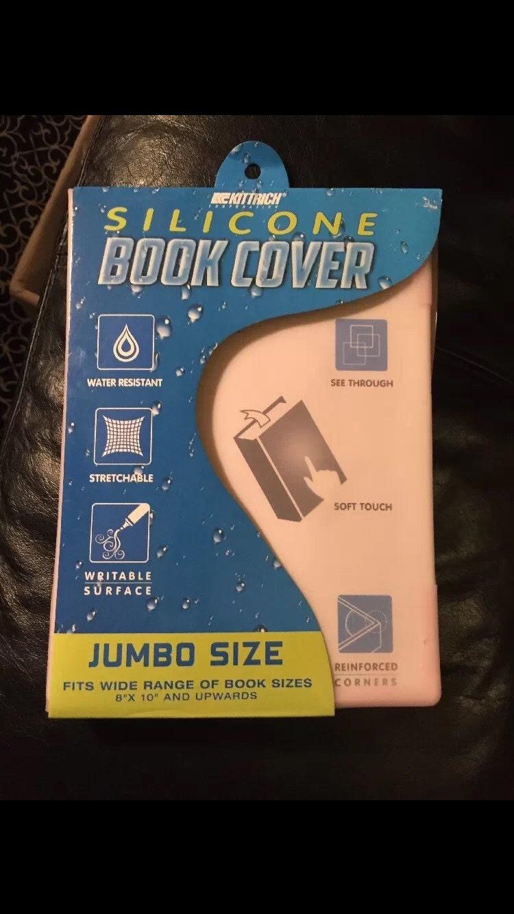 free ship kittrich corporation silicone book cover non stick