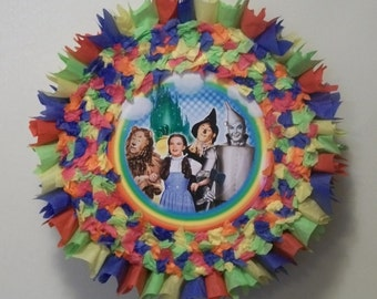 The Wizard of Oz Pull String or Hit Pinata (Design 2)