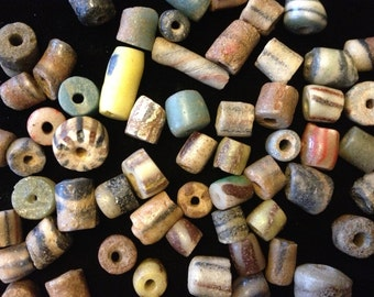 Antique African Sand-Cast Trade Beads