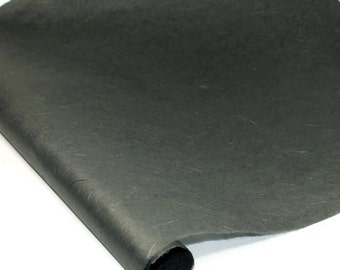 """Black Unryu (Mulberry) Paper Roll from Thailand - 39"""" by 11 Yards"""