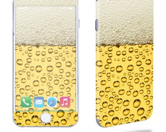 Skin Decal Wrap for Apple iPhone 6 6 Plus 5C 5/5S 4 iPod Touch 5G Touch 4G Vinyl Cover Sticker Skins Beer Buzz