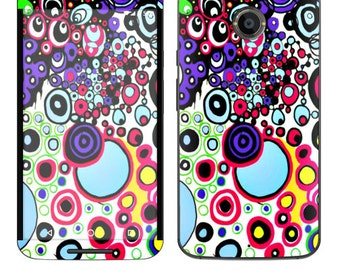 Skin Decal Wrap for Motorola Moto G (2nd) Google Nexus 6 Droid Turbo Moto X (2nd Gen) Droid Vinyl Cover Sticker Skins Circle Explosion