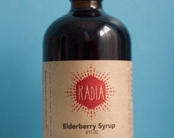Elderberry Syrup with Medicinal Mushrooms