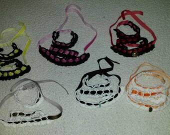 Crochet Choker & Cuffs