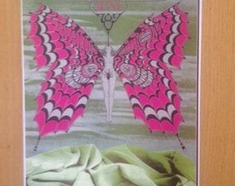 Iron Butterfly Velvet Underground Chrome Cyrcus poster 11 x 17