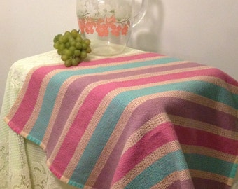 Large Handwoven Lavender Dish Towel