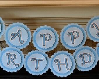 Cinderella Princess Birthday Banner