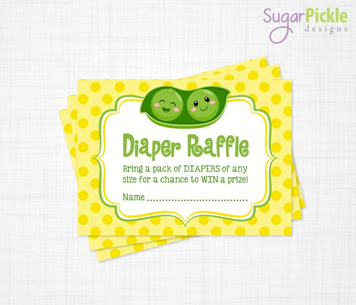 twins diaper raffle cards twins baby shower baby shower