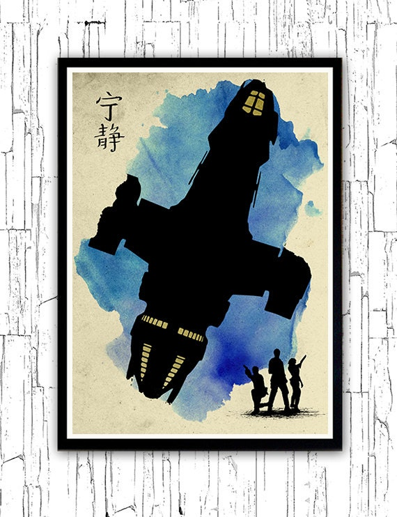 Firefly Serenity Minimalist PosterSerenity Minimalist Poster