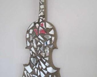 violin art decor