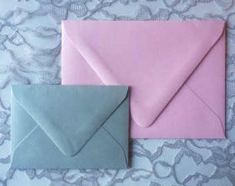 Wedding Invitation Envelopes, Colored Envelopes, Lined Envelopes