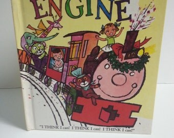 Vintage 1957 Hardcover Edition  THE PONY ENGINE by Wonder Books
