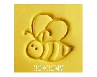 bee Soap Stamp - fishes Soap Mold Seal DIY Handmade Soap