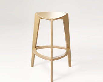 Semi bar stool