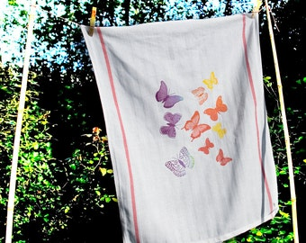 Tea-towel Butterfly