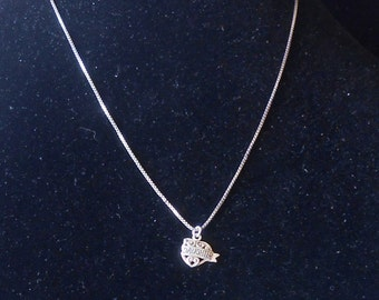Sterling DAUGHTER/MOTHER Pendant Necklace