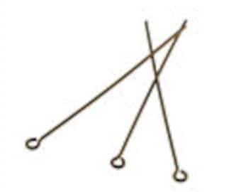 Strong Eye Pins - 5 Colours - 2 Sizes