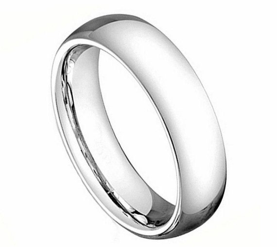 Cobalt Metal Ring Engagement Ring 5mm Cobalt