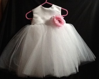 One of a kind.. Girls party dress in tulle
