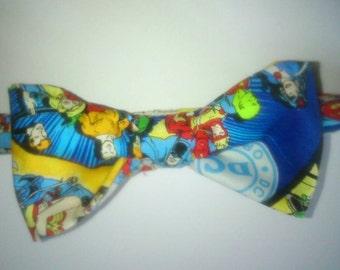 Mens DC superheros bow Tie