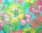 "18"" x 18"" or 1 YARD Lilly Pulitzer Fabric Big Flirt"
