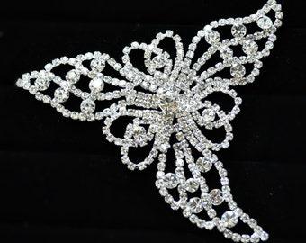 Bridal Brooch pin, Wedding Brooch, Wedding accessories, Bridal hair, Flower pin, Wedding Hairstyle ,Large brooch pin,wedding jewelry brooch