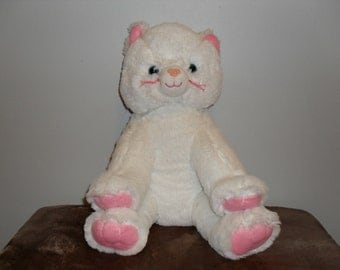 Plush Satin Kitty Cat That Sings Your Child's Name!