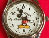 Disney Retired Ladies Mickey Mouse Watch! Out of Production!