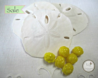 Vintage Czech Glass Yellow Berry Beads Yellow Vintage Beads Czech Glass Yellow Vintage Berry Czech Glass Beads (2pcs)