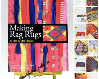 2002~Making Rag Rugs Instruction Book~15 Projects~Clare Hubbard~Crafts