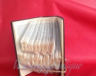PATTERN #111 Happy Birthday book folding pattern. 362 folds