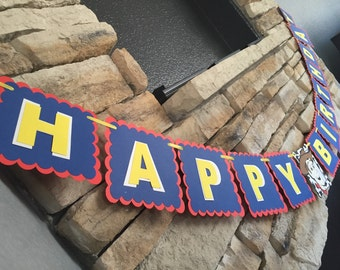 Toy Story Happy Birthday Banner, Woody Banner, Toy Story Banner, Toy Story Party