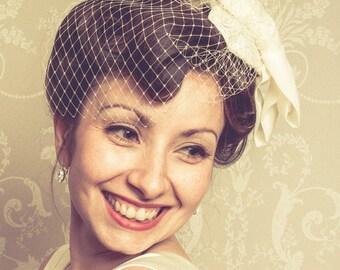 Vintage - wedding - bridal - hair accessory