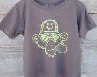 Nauti-Kids Beach Monkey T-Shirt BABY, TODDLER, YOUTH Sizes
