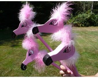 Alice in Wonderland Flamingo Croquet Set