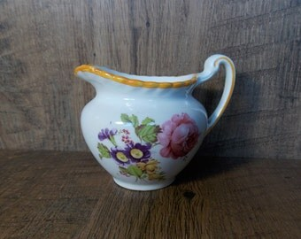 Gray's Pottery Small Floral Jug ~ Very Nice Condition.